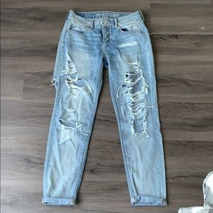 2018 American Eagle boyfriend jeans